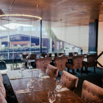 Aquitaine Brasserie private mezzanine